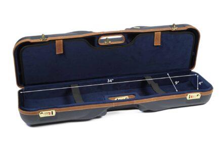 Negrini 1646LX-LUG/5288 Shotgun Luggage interior bottom dimensions