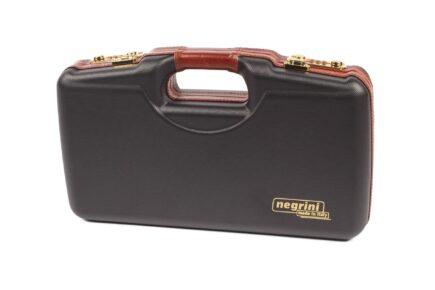 Negrini Luxury 1911 Handgun Case - 2018SLX/WOOD exterior