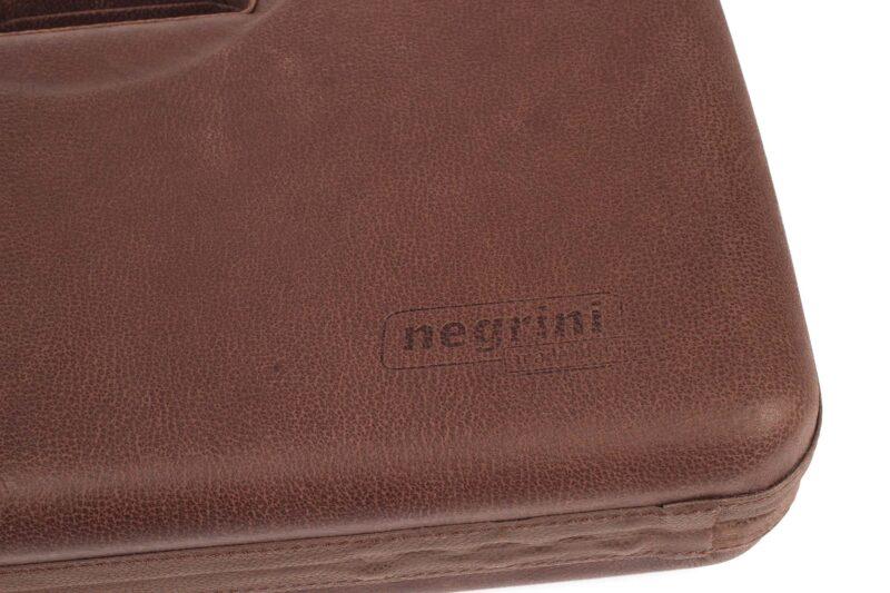 Negrini Handgun Cases - 2018SPL 1911 handgun case leather close up