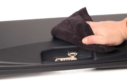 Microfiber ABS cleaning towel