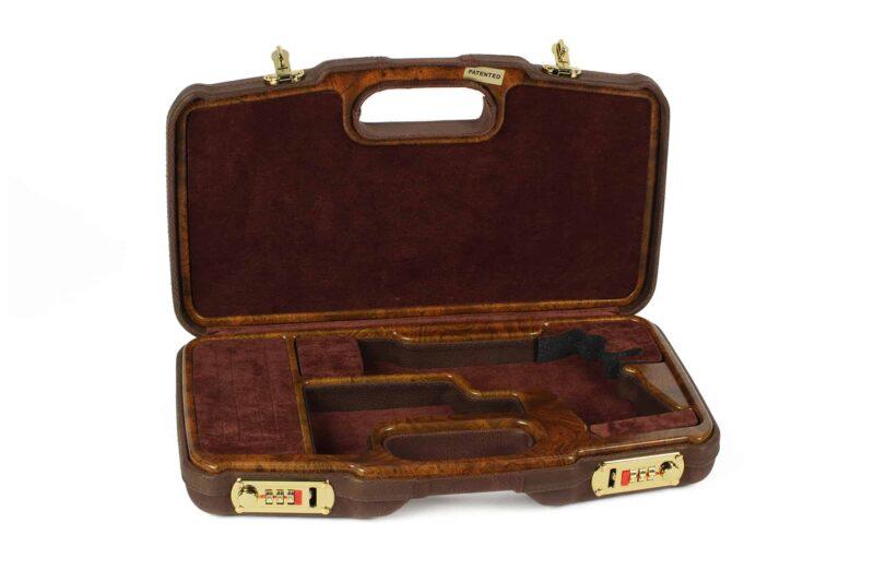 Negrini 2018SPL-WOOD/5386 1911 gun case interior