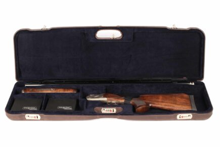 Negrini Trap Single high rib shotgun case - 1657PL/5244 High rib trap shotgun