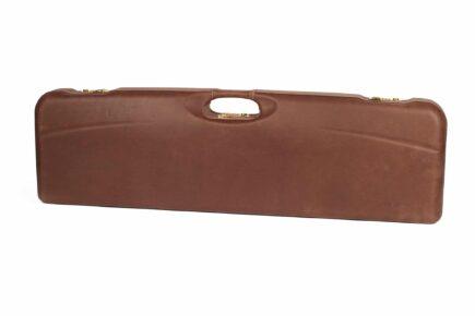 Negrini Leather Trap Single high rib shotgun case - 1657PPL/5193 exterior