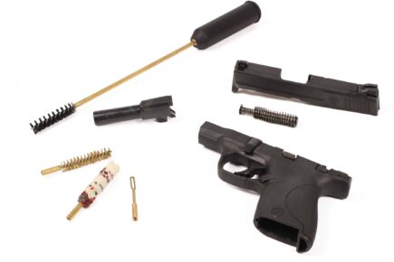 Negrini Compact Pistol Cleaning Kit 9mm, .380, .40, .45 cal