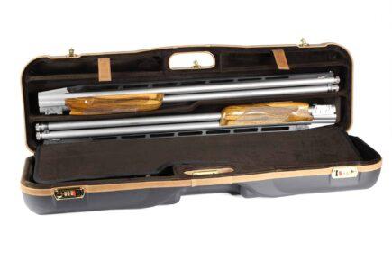 Negrini High Rib Combo Shotgun Case - 1646LX-2C/4765 - adjustable high rib