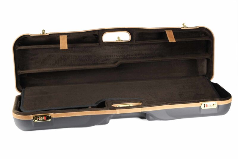 Negrini High Rib Combo Shotgun Case - 1646LX-2C/4765 - interior top
