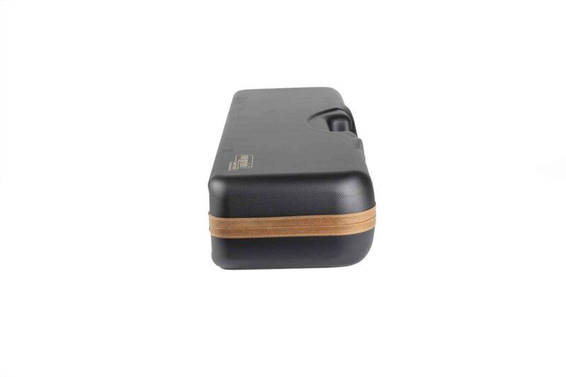 Negrini High Rib Combo Shotgun Case - 1646LX-2C/4765 - side profile