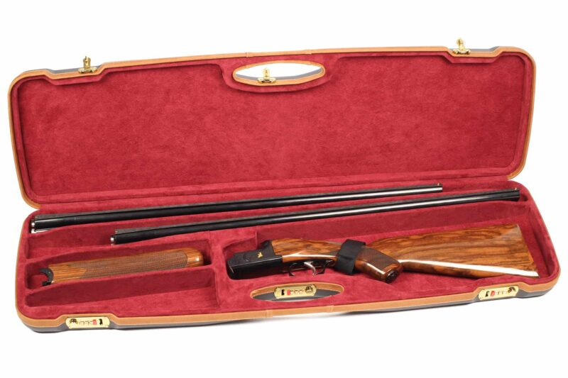 Negrini 1654LX-2C/5465 Sporting Combo Shotgun Case Zoli Expedition Shotgun