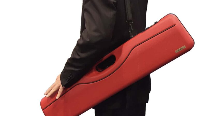 Negrini 16405LX Over Under Shotgun case with detachable Shoulder Strap