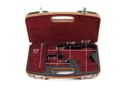Negrini Dedicated GLOCK Case - 2028SLX/5512 - interior dimensions