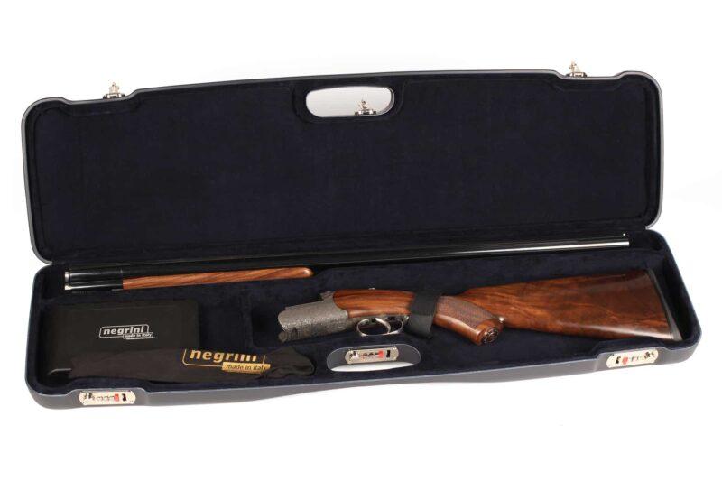 Negrini 1602LR/5516 Shotgun Case - Zoli Pernice Round Body Shotgun