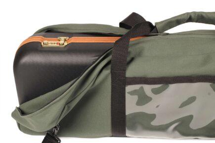 INTELCASE Canvas Duck Case Cover - open