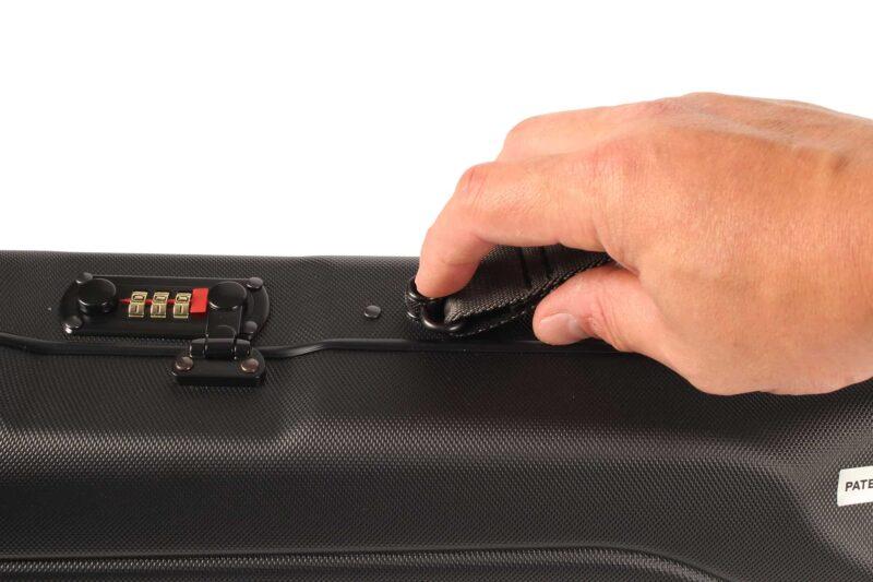 Negrini Upland 20 gauge shotgun case quick detach shoulder strap