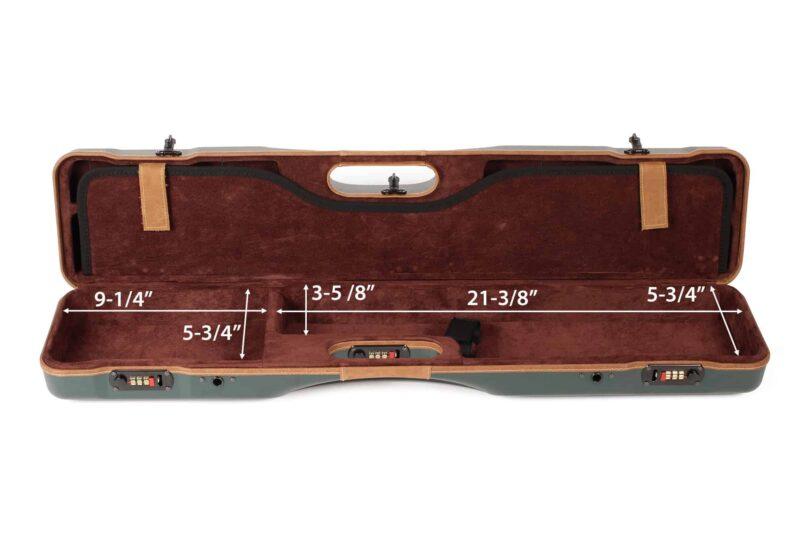 Negrini Uplander Shotguns Case - interior bottom dimensions