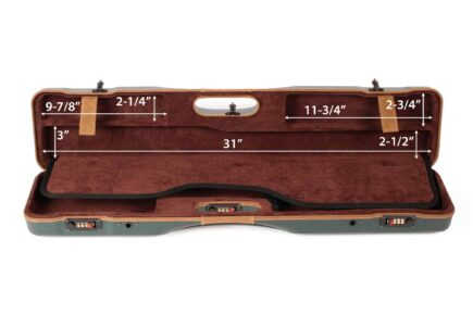 Negrini Uplander Shotguns Case - interior top dimensions