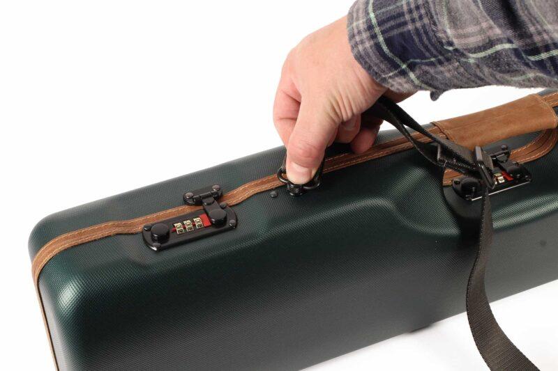 Negrini Uplander Shotguns Case - quick detachable shoulder strap