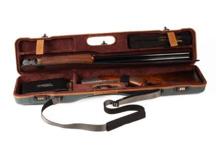 Negrini Uplander Shotguns Case - Zoli Pernice Round Body