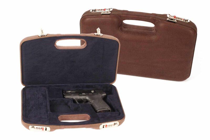 Negrini Luxury Leather GLOCK handgun Case 2028PL/5542