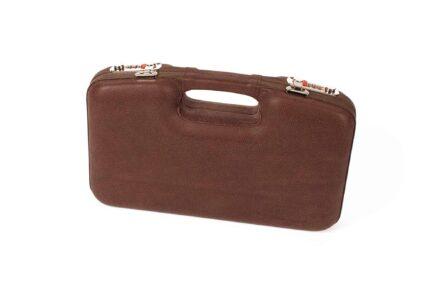 Negrini Luxury Leather GLOCK Handgun Case exterior italian leather