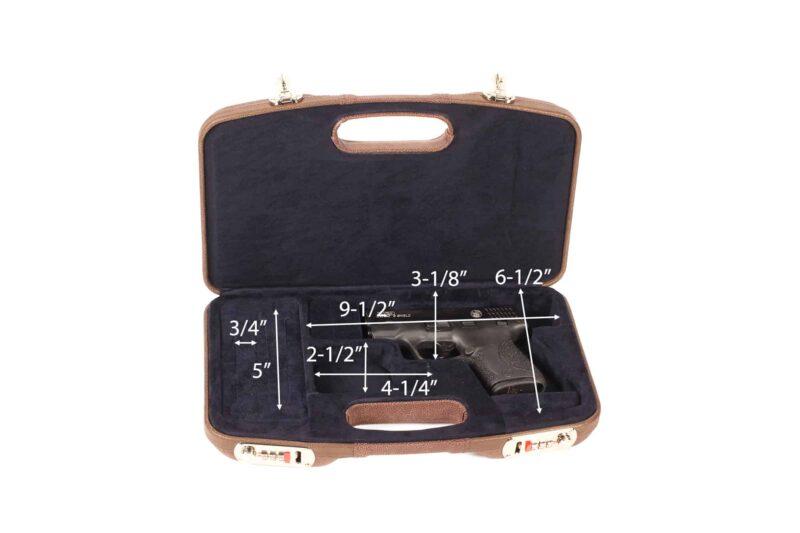 Negrini 2028SPL GLOCK Case interior dimensions