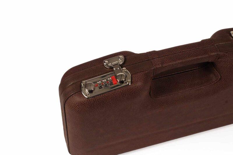 Negrini Luxury Leather GLOCK Handgun Case lock