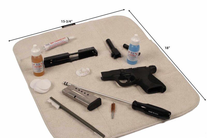 STIL CRIN Padded Handgun Cleaning Mat dimensions