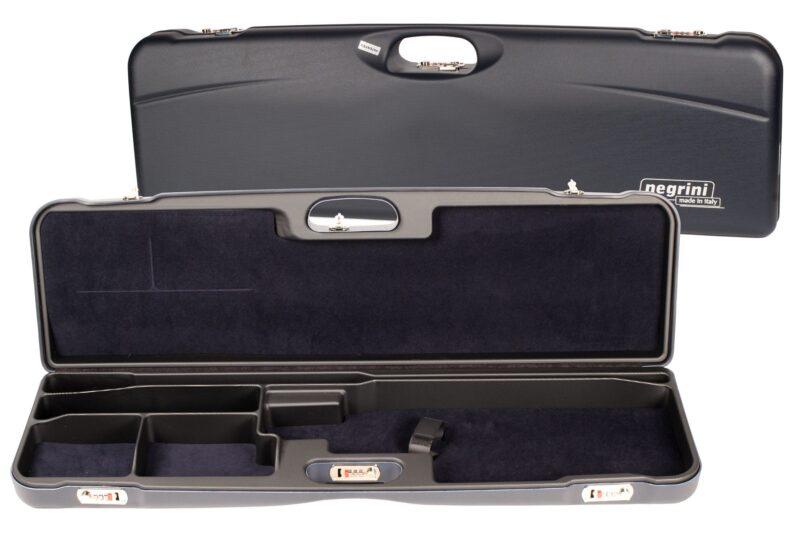 Negrini 1657R/5552 High Rib Trap Shotgun Case interior