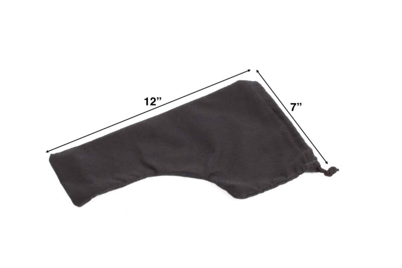 Handgun Sock dimensions