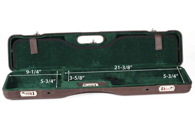 Negrini Luxury Leather Uplander Hunting Case bottom dimensions