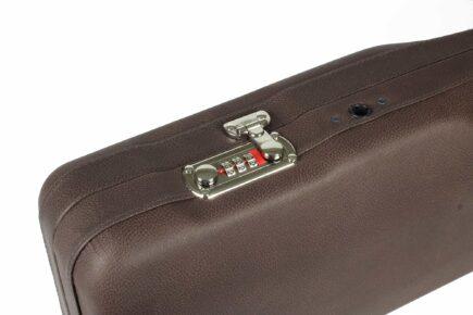 Negrini Luxury Leather Uplander Hunting Case lock