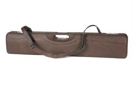 Negrini Luxury Italian Leather UNICASE - Negrini OU/SXS/Auto/Pump UNICASE Luxury Leather Travel Shotgun Case - exterior