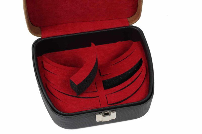 Negrini Shooting Glasses Case - interior foam