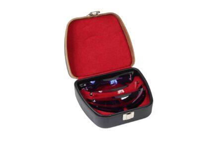 Negrini 3105 Eyeglass Case - Pilla Outlaw X Eyeglasses with lenses