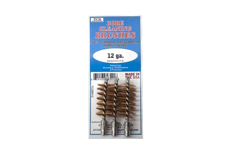 TCS Shotgun Cleaning Brushes for 12 ga