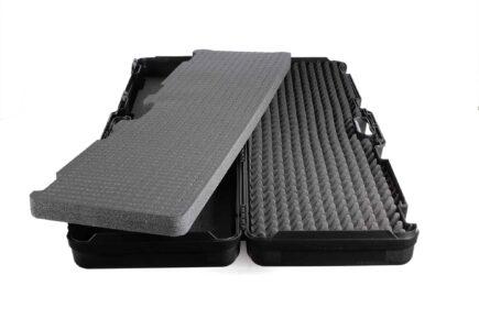 Negrini Die-cut Rifle Case - 1640C-ISY interior foam