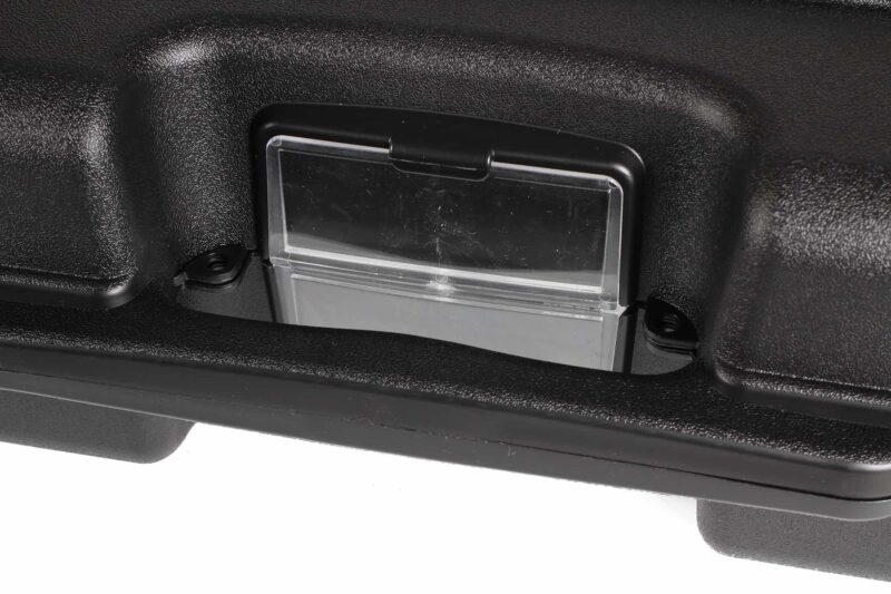 Negrini Die-cut Rifle Case - 1640C-ISY handle