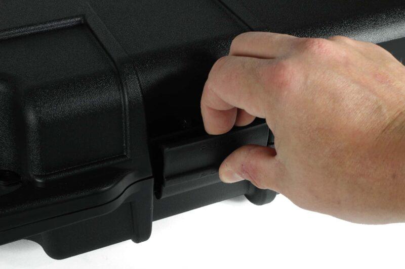 Negrini Die-cut Rifle Case - 1640C-ISY push pull locks