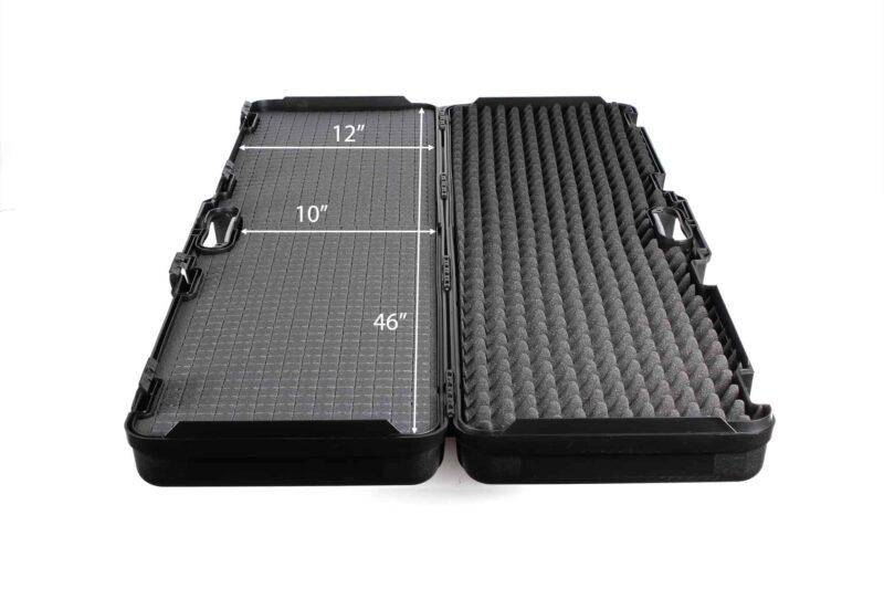 Negrini Die-cut Rifle Case - 1640C-ISY interior dimensions