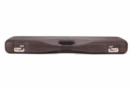 Negrini Superlative Luxury Leather Shotgun Case 1605PPL/5224 - profile