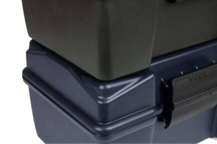 Negrini 21100ISY/WP ammo box stackable closeup
