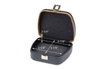 Negrini 3105LXX/5685 Empty Eyeglass Case interior dimensions