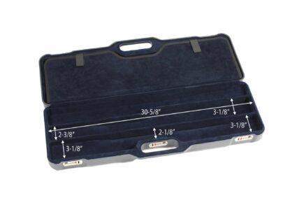 Negrini 1674LR 1 Gun 4 Barrel Hunting Case interior dimensions