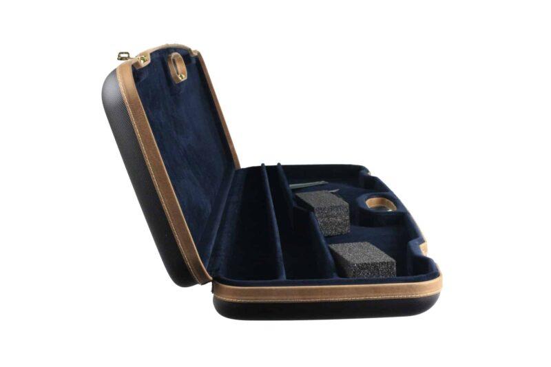 Negrini 1607ALX-2C Autoloader Combo Travel Case - side interior