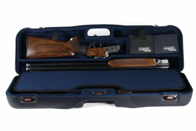 Negrini OU/SxS Two Sporting Shotgun Takedown Shotgun Case - shotgun top