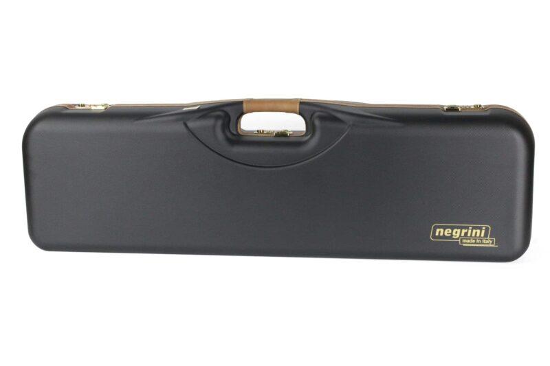 Negrini 1646LX-2F/4760 OU/SxS Deluxe Two Sporting Shotgun Takedown Shotgun Case exterior