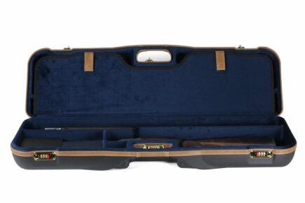 Negrini 1646LX-2F/4760 OU/SxS Deluxe Two Sporting Shotgun Takedown Shotgun Case - shotgun bottom