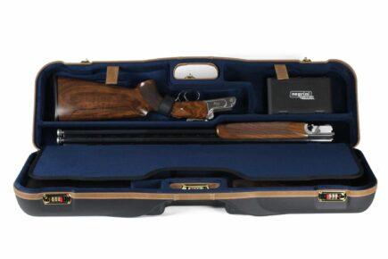 Negrini 1646LX-2F/4760 OU/SxS Deluxe Two Sporting Shotgun Takedown Shotgun Case - Zoli Z-Sport Top