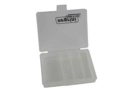 Negrini 3 Choke Case Interior plus speed wrench storage clear/opaque