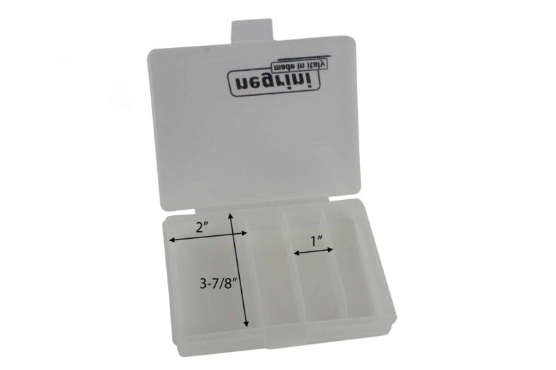Negrini 3 Choke Case Interior plus speed wrench storage clear/opaque dimensions