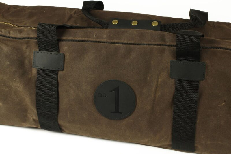 Crushable Field Vault by Stack Arms pecan logo
